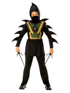 Disfraz para niño de ninja