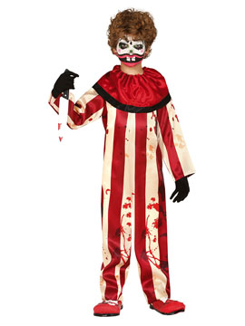 Disfraz Payaso Loco Infantil