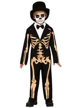 Disfraz Señor Esqueleto Infantil