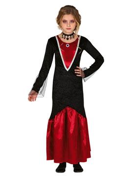 Disfraz Vampiresa Fantasma Infantil