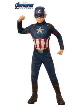 Disfraz Capitán América Endgame Classic Infantil