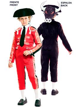Disfraz Doble Fun Torero Toro Infantil