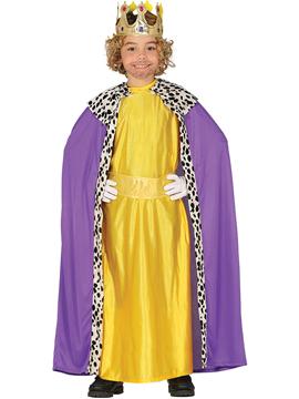 Disfraz Rey Mago Melchor Niño Infantil