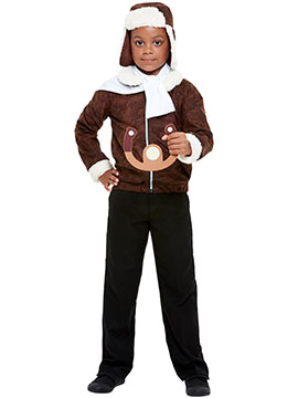 Disfraz Piloto de Avión Infantil