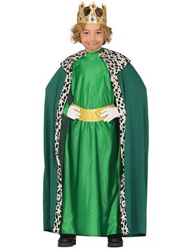 Disfraz Rey Mago Baltasar Niño Infantil