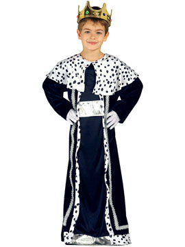 Disfraz Niño Rey Mago Melchor Infantil