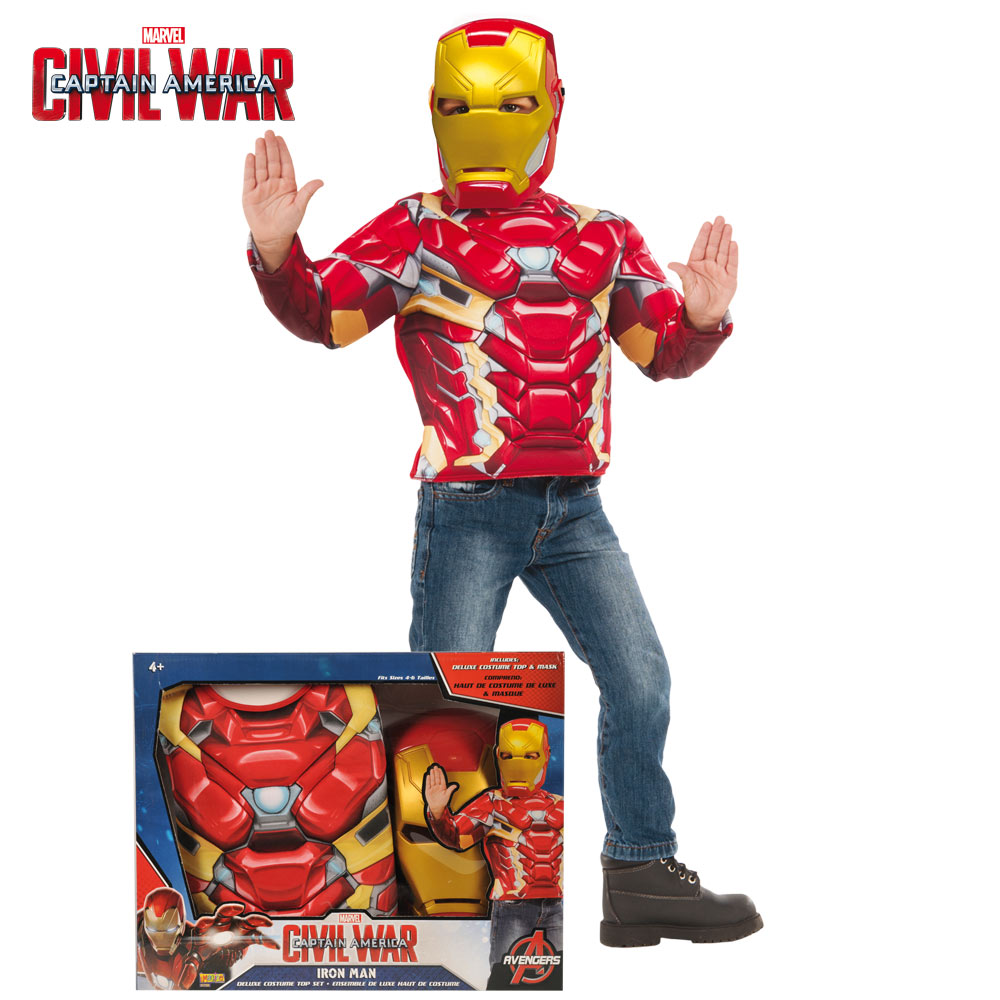 Disfraz Iron Man Civil War Infantil