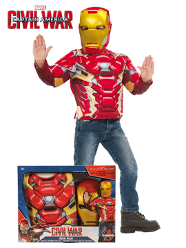Disfraz Iron Man Civil War Infantil