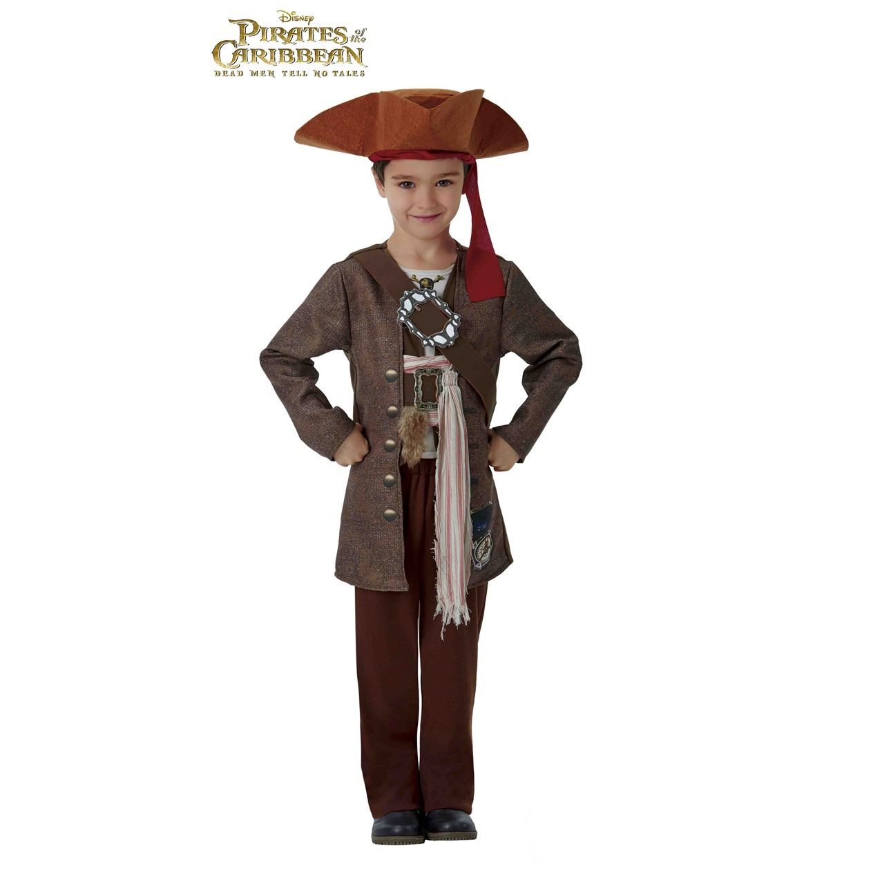Disfraz Jack Sparrow Deluxe Infantil