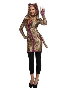 Disfraz Leopardo Mujer