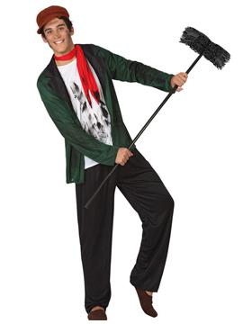 Disfraz Limpiador de Chimeneas Adulto