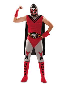 Disfraz Campeón de Lucha Libre