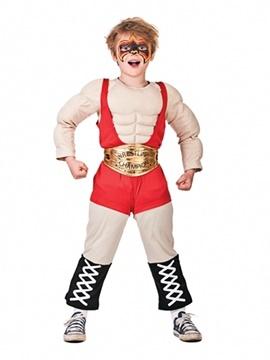 Disfraz Luchador Wrestler Infantil