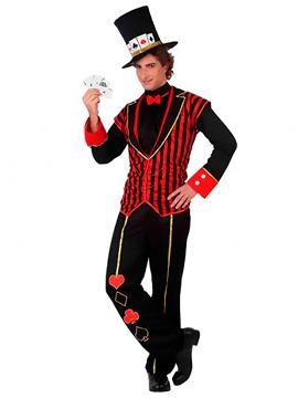 Disfraz Maestro del Poker Adulto