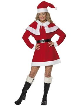 Disfraz Mamá Noel con Capa Adulto