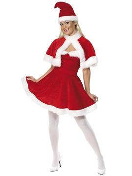 Disfraz Mamá Noel de Terciopelo Adulto