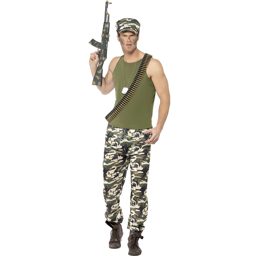 Disfraz Militar Adulto
