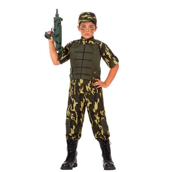 Disfraz Militar Infantil
