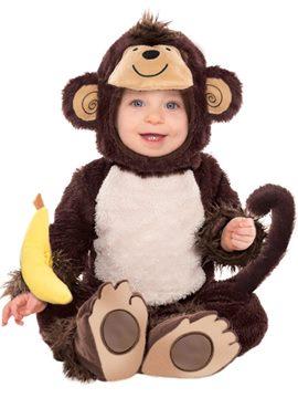Disfraz Monito con Plátano Bebé