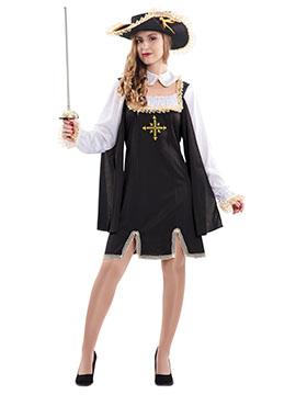 Disfraz Mosquetera Mujer Adulto