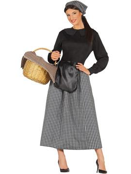 Disfraz Mujer Castañera Adulto