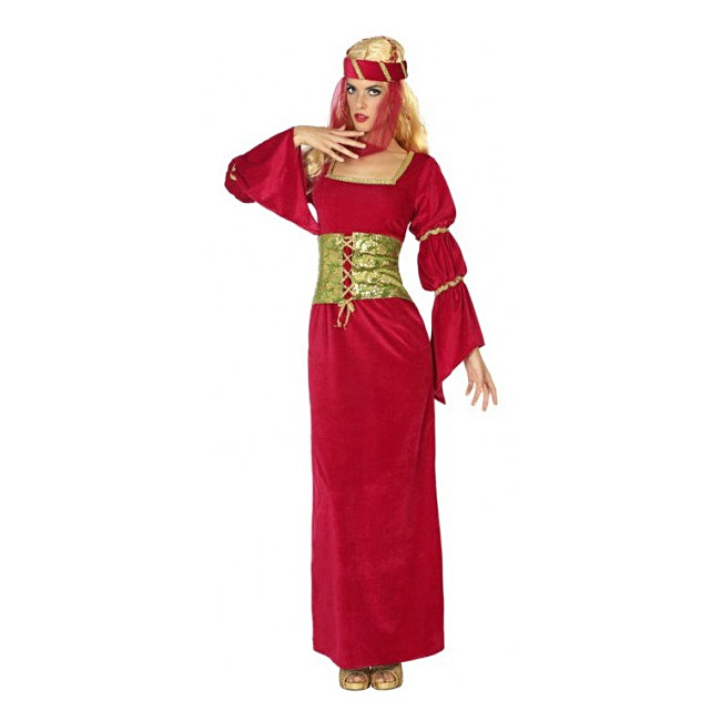Disfraz Mujer Dama Medieval Adulto