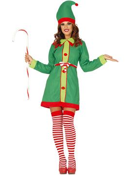 Disfraz Mujer Elfa Adulto
