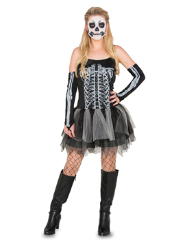 Disfraz Mujer Esqueleto