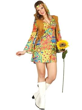Disfraz Hippie Adulta