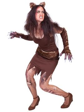 Disfraz Mujer Lobo Adulto