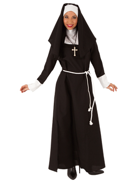Disfraz Mujer Monja Adulto
