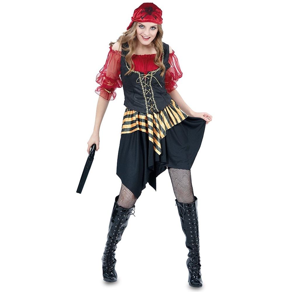 Disfraz Mujer Pirata de los Siete Mares