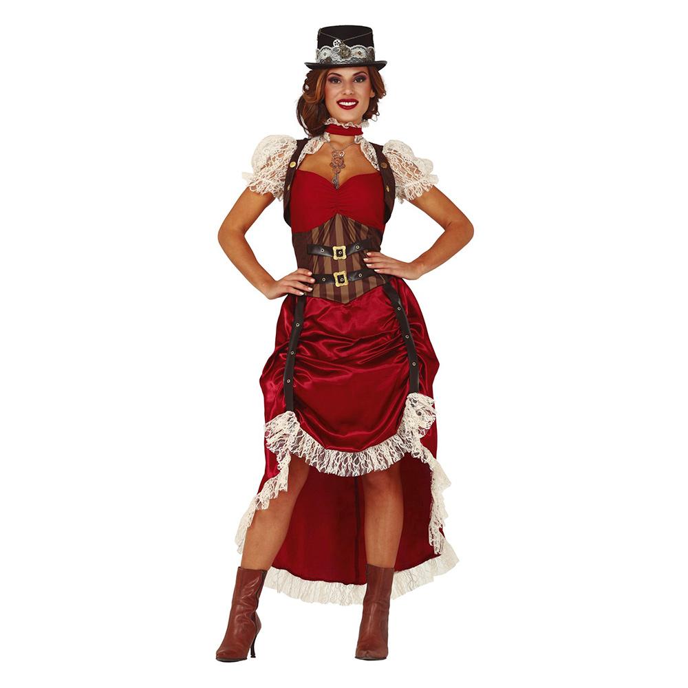 Disfraz Mujer Steampunk Adulto