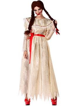 Disfraz Muñeca de Porcelana Adulto