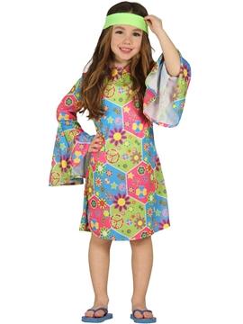 Disfraz Niña Hippie Infantil