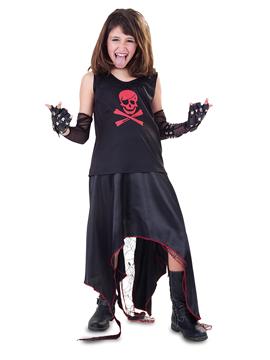 Disfraz Niña Punk Infantil
