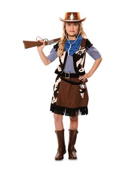 Disfraz Niña Vaquera Infantil
