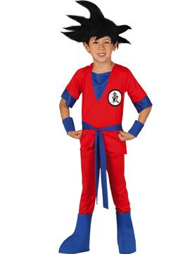 Disfraz Ninja Rojo Serie Infantil