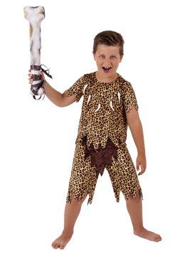 Disfraz Niño Cavernícola