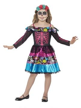 Disfraz Novia Día de los Muertos Niña