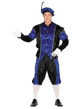 Disfraz Paje Azul Adulto
