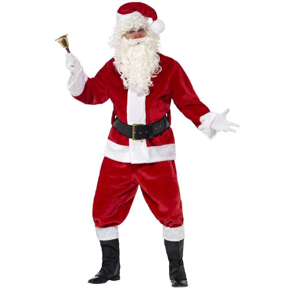Disfraz Papá Noel Deluxe Adulto