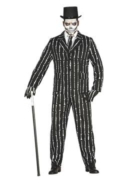 Disfraz Traje Esqueleto Adulto