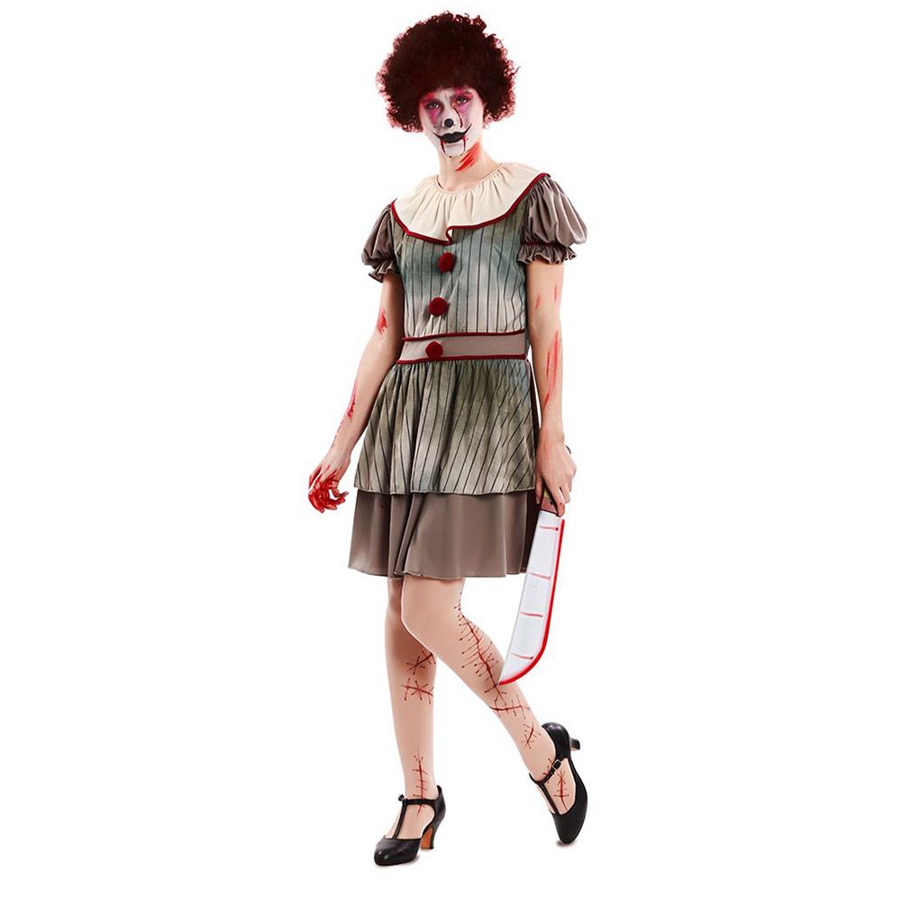 Disfraz Payasa Diabólica Adulto