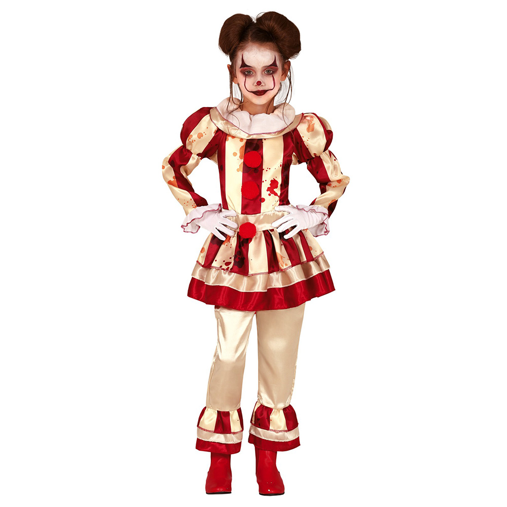 Disfraz Payasa Loca Infantil