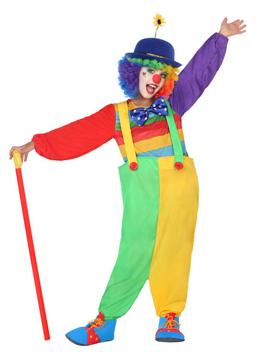 Disfraz Payasita Circo Infantil