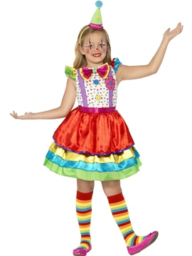 Disfraz Payasita Deluxe Infantil