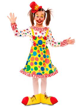 Disfraz Payasita Infantil