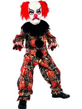 Disfraz Payaso Aterrador Infantil