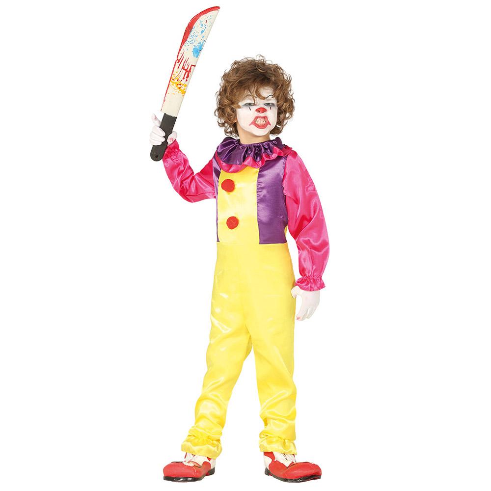 Disfraz Payaso Maléfico Infantil